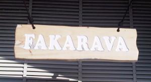 Fakarava sign