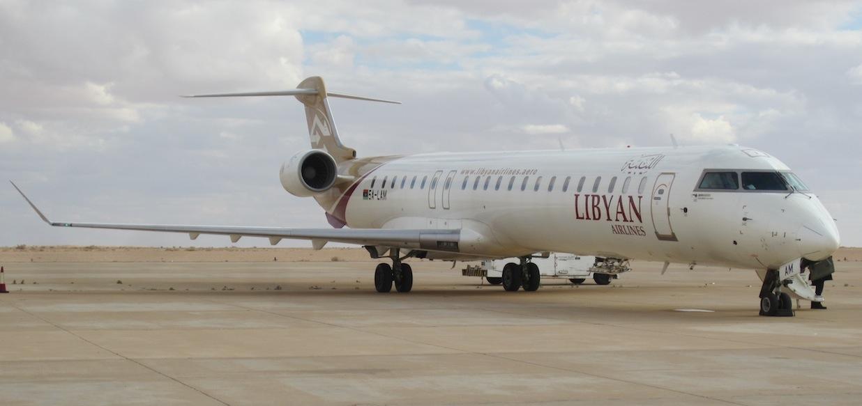 Avion Libia