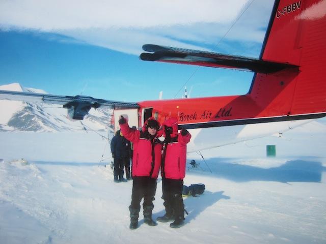 Twin Otter en la Antártida