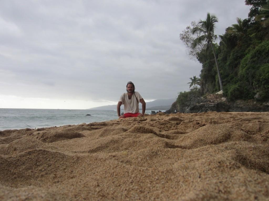 Yo en la playa de Moya, Anjouan, Comoras