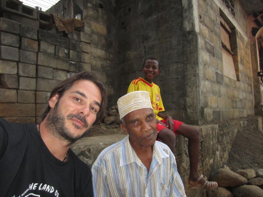 Amigo en Moya, Anjouan, Comoras