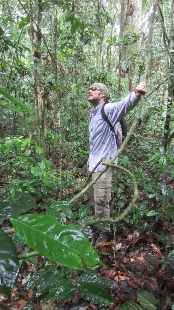 Perdido en la selva de la República Centroafricana