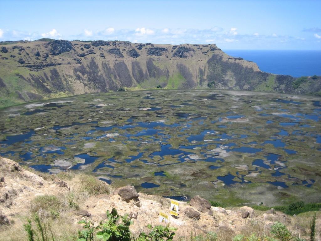 Moais en Isla de Pascua
